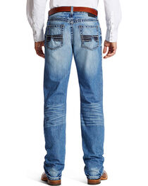 Ariat Men's Faded Relaxed Fit Boot Cut Jeans, , hi-res