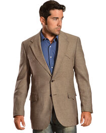 Circle S Men's Lambswool Plano Sport Coat, , hi-res