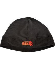 Ariat Men's Black FR Polartec Work Beanie, , hi-res