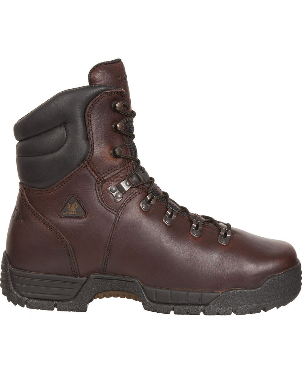 Rocky Men's Mobilite Work Boots, Copper, hi-res