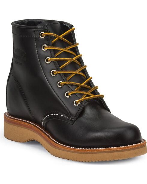 """Chippewa Women's Whirlwind 6"""" Lace Up Boots, Black, hi-res"""