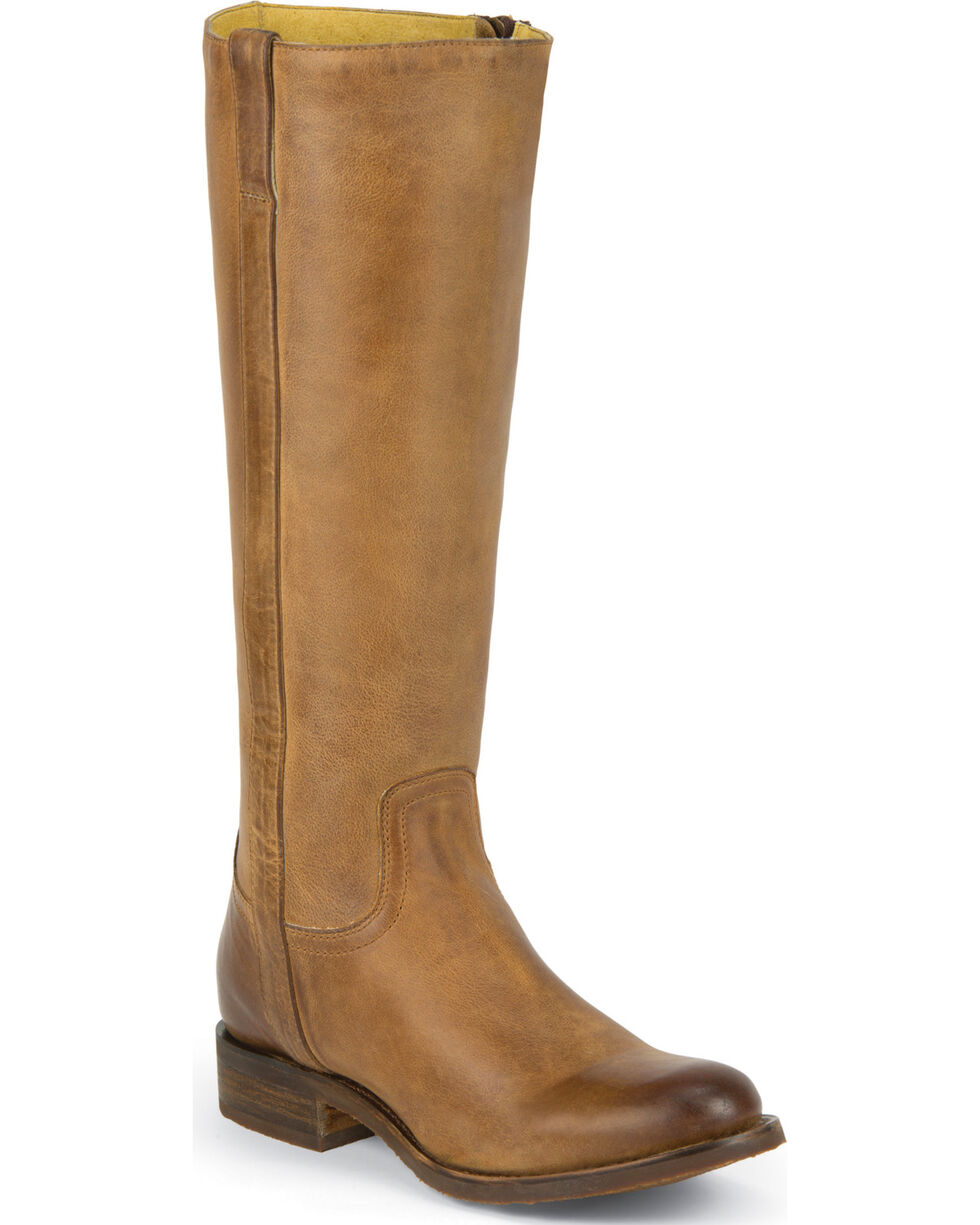 "Justin Women's 15"" Fashion Boots, Tan, hi-res"