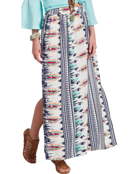 Rancho Estancia Women's Coachella Maxi Skirt, Multi, hi-res