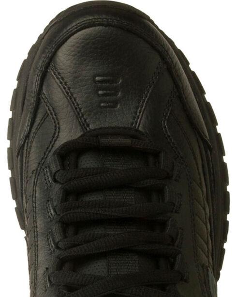 Skechers Men's Black Soft Stride Galley Slip Resistant Work Shoes, Black, hi-res