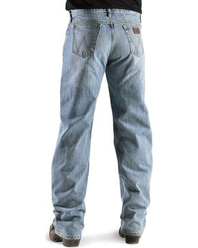 Wrangler Men's 20X 01 Competition Jeans, Bleach Indigo, hi-res