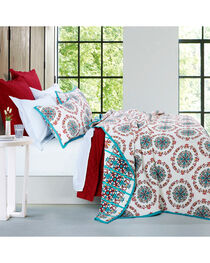 HiEnd Accents Multi Sonora Two Piece Twin Quilt Bed Set, , hi-res