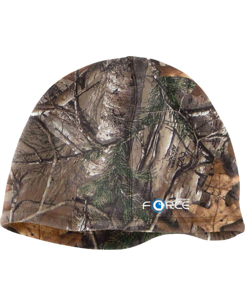Carhartt Lewisville Force Camo Fleece Hat, Camouflage, hi-res