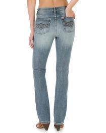 Wrangler Aura Women's Slimming Straight Leg Jeans, , hi-res