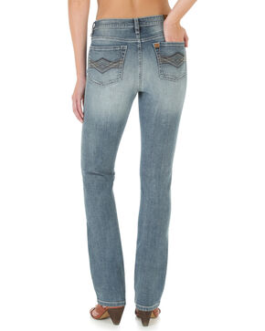 Wrangler Aura Women's Slimming Straight Leg Jeans, Denim, hi-res