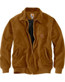 Carhartt Men's Pecan Brown Bankston Jacket - Big & Tall, , hi-res