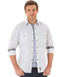 Wrangler Retro Men's Long Sleeve Western Snap Shirt, , hi-res