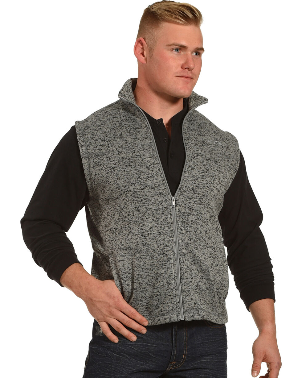 Resistol Men's Grey James Vest , Grey, hi-res
