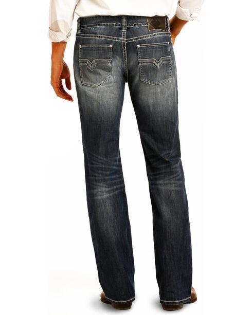 Rock & Roll Cowboy Men's Indigo Reflex Pistol Jeans - Straight Leg, Indigo, hi-res
