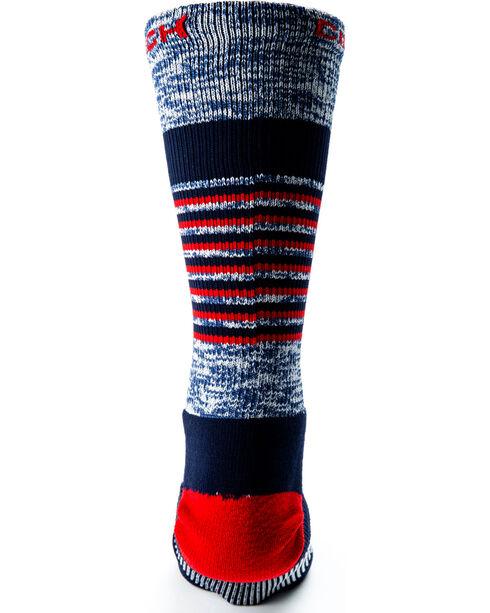 Cinch Men's Performance Crew Socks, Purple, hi-res