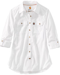 Carhartt Women's Force Ridgefield Shirt , , hi-res