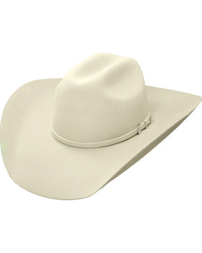 Master Hatters Men's Silver Belly Outrider 7X Fur Felt Cowboy Hat, Silver Belly, hi-res