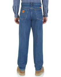 Wrangler Men's Flame Resistant Relaxed Fit Jeans , , hi-res