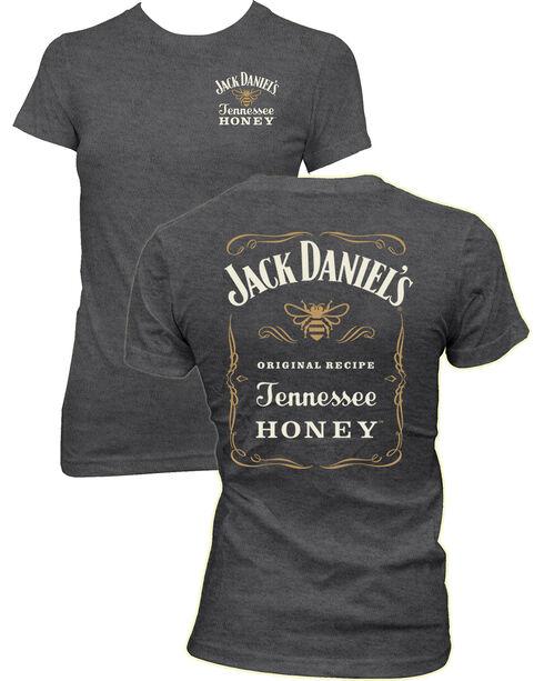 Jack Daniel's Women's Tennessee Honey Short Sleeve Tee, Grey, hi-res
