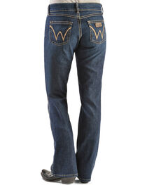 Wrangler Women's Premium Patch Mae Boot Cut Jeans, , hi-res