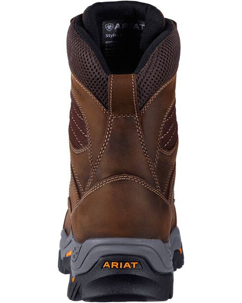 "Ariat Men's Trek 8"" Composite Toe Work Boots, Brown, hi-res"