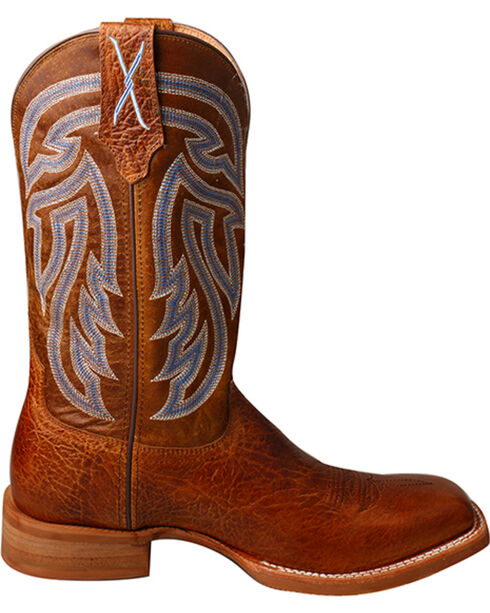 Twisted X Men's Rancher Western Boots, Brown, hi-res