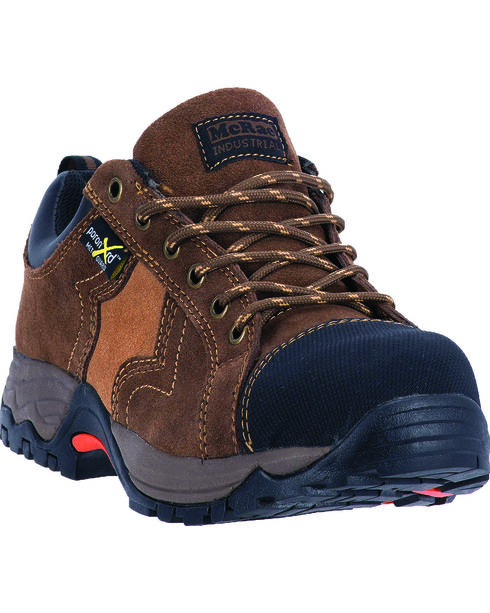 McRae Men's CT XRD Oxford Work Boot, Brown, hi-res
