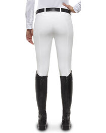 Ariat Women's Olympia Zip-Front Low Rise Knee Patch Breeches, , hi-res
