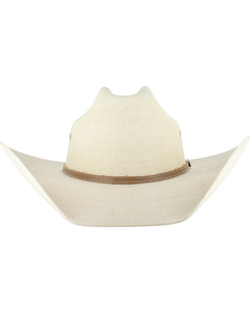 Atwood Hereford 7X Palm Leaf Cowboy Hat, Natural, hi-res