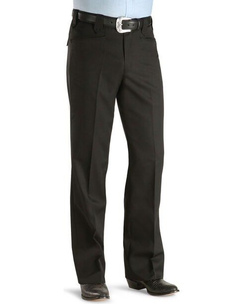 Circle S Men's Black Tuxedo Pants , Black, hi-res