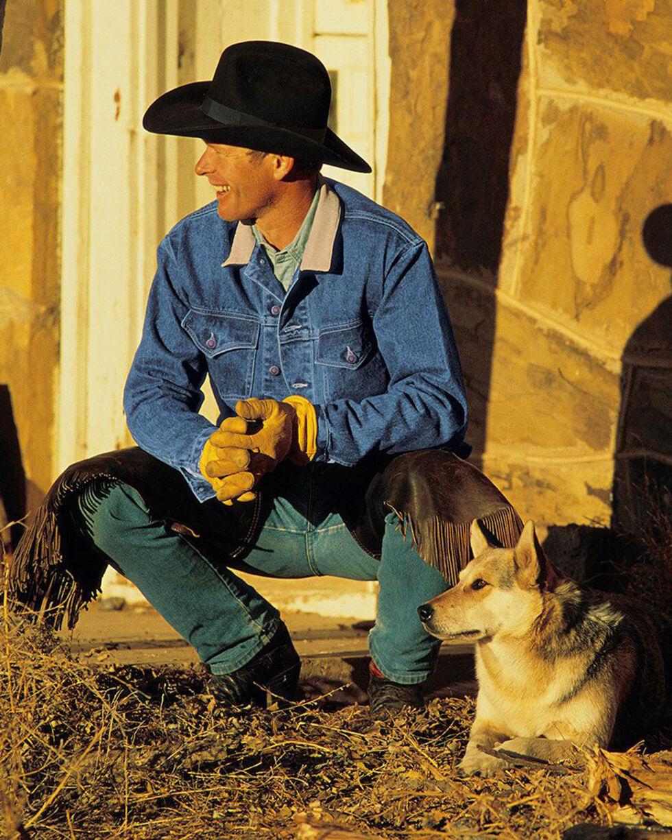 Schaefer Outfitter Men's Legend Denim Jacket - Big, Indigo, hi-res