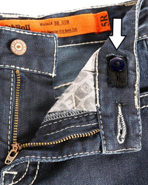 """Rock & Roll Cowboy Boys' (4-20) Copper """"V"""" Jeans - Boot Cut , Indigo, hi-res"""