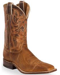 Justin Men's Bent Rail Square Toe Western Boots, , hi-res