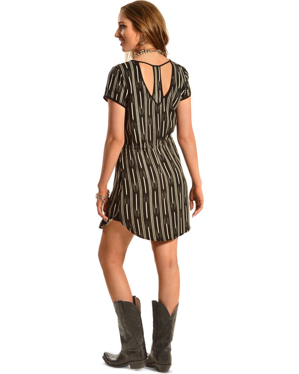 Black Swan Women's Sienna Woven Dress, Black, hi-res