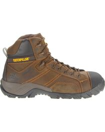CAT Men's Composite Toe Waterproof Argon HI Work Boots, , hi-res