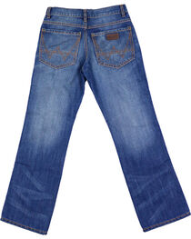Wrangler Boys' Retro Relaxed Boot Cut Premium Denim Jeans, , hi-res