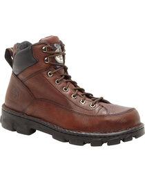 "Georgia Men's Wide Load Safety Toe Heritage 6"" Work Boots, , hi-res"