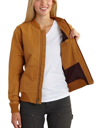 Carhartt Women's Crawford Bomber Jacket | Boot Barn