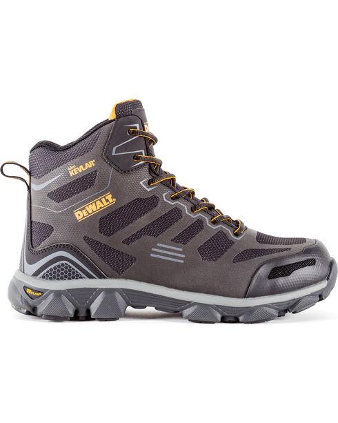 DeWalt Men's Crossfire Mid Kevlar Athletic Boots - Aluminum Toe, Dark Grey, hi-res