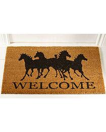 Gift Craft Horse Welcome Door Mat, , hi-res
