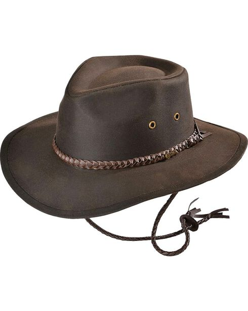 Outback Unisex Grizzly Hat, Brown, hi-res