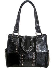 Montana West Black Trinity Ranch Concealed Handgun Collection Handbag, , hi-res