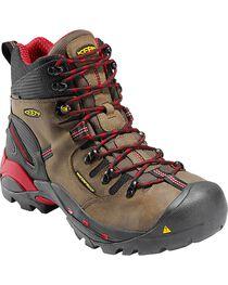 Keen Men's Pittsburgh Waterproof Steel Toe Work Boots, , hi-res