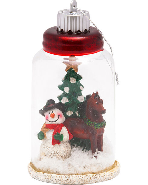 BB Ranch Mason Jar LED Lantern Ornament , Multi, hi-res