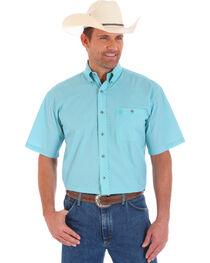 Wrangler Men's George Strait Pattern Short Sleeve Shirt, , hi-res