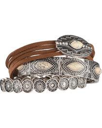 Shyanne® Women's Southwest Mixed Pattern Bracelet Set , , hi-res