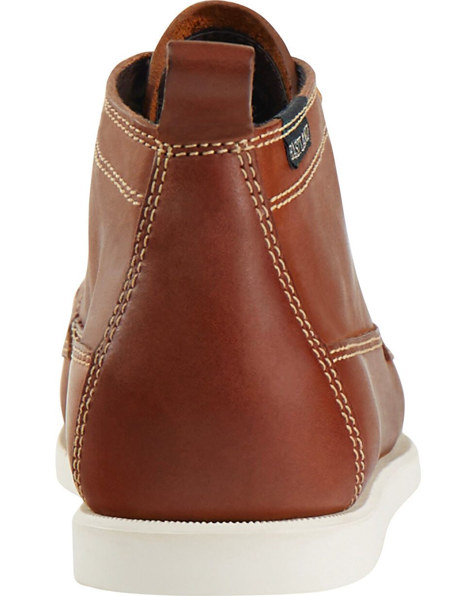 Eastland Men's Pecan Seneca Camp Moc Chukka Boot , Pecan, hi-res