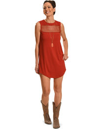 Angel Ranch Women's Red Picnic Dress , , hi-res