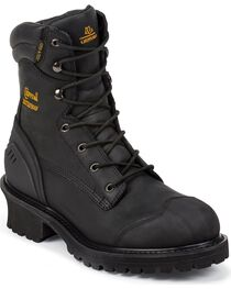 Chippewa Men's Insulated Composite Toe Logger Work Boots, , hi-res