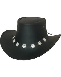 Bullhide Women's Good Things Leather Western Hat , , hi-res