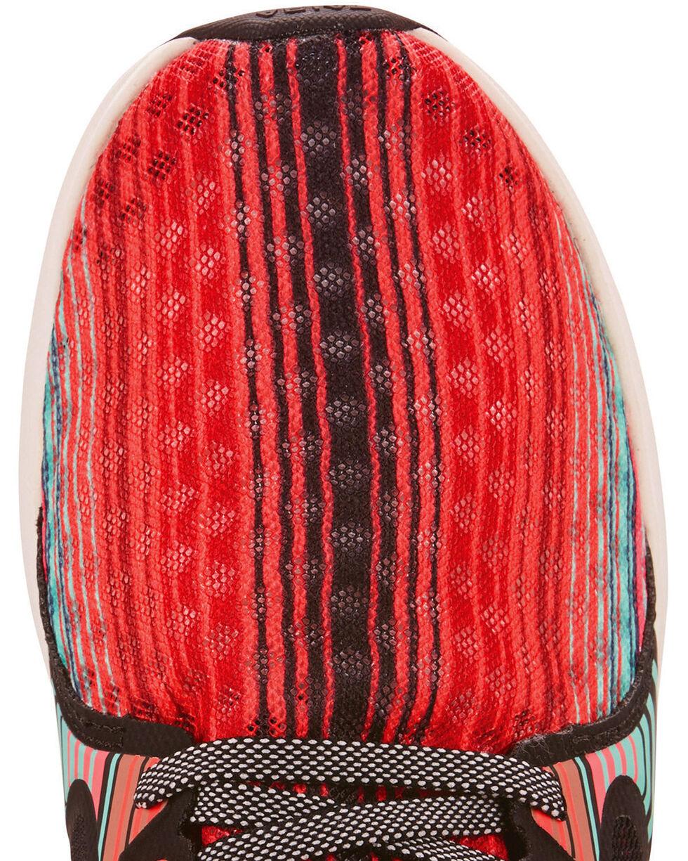 Ariat Women's Fuse Southwestern Serape Mesh Shoes - Round Toe, Brown, hi-res